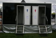 2 + 1 Luxury Recirculating Toilet Trailer