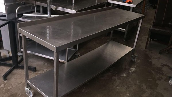 Used stainless steel tables London