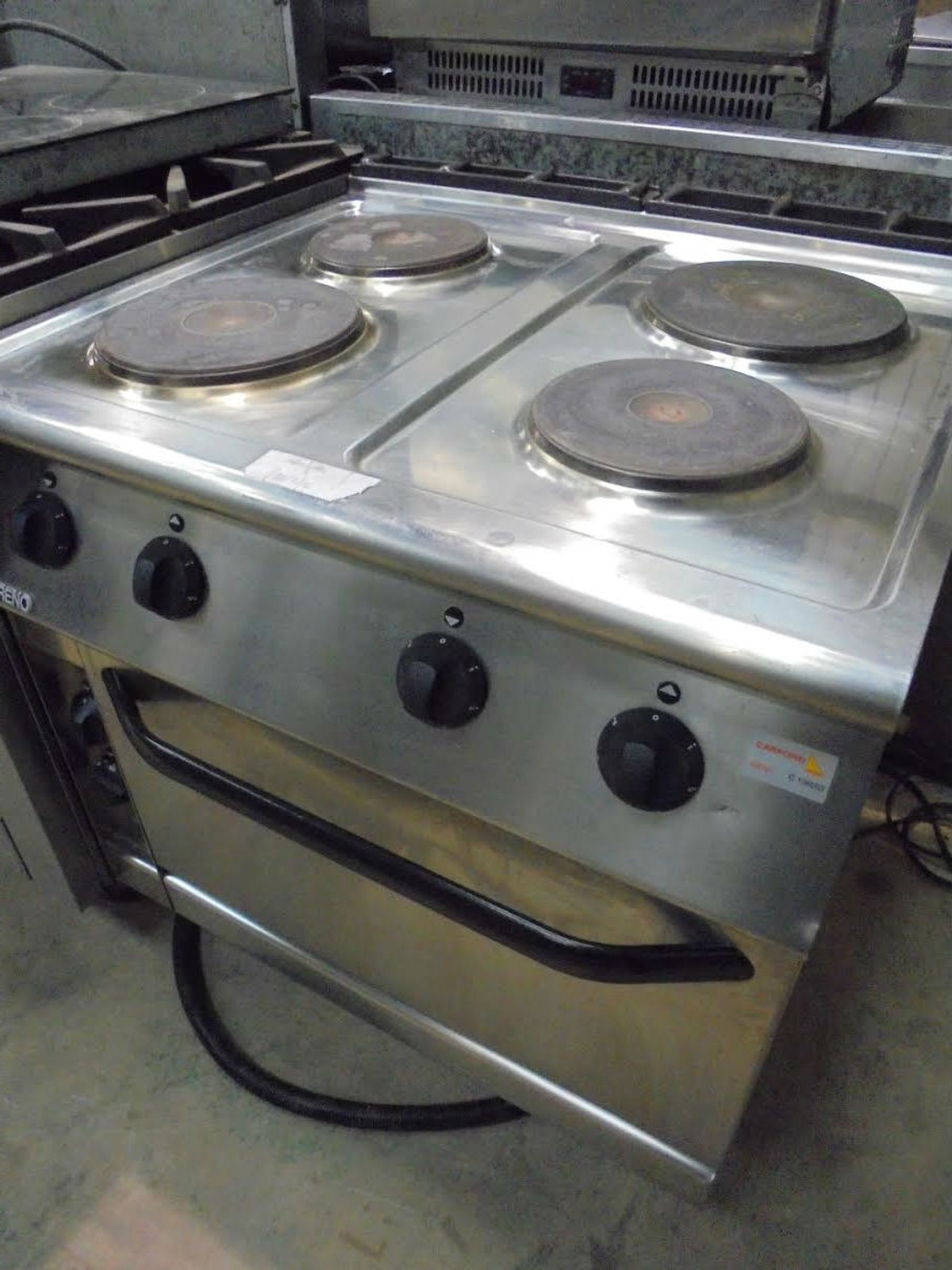 Electric Oven Catering ~ Secondhand catering equipment electric ovens mareno