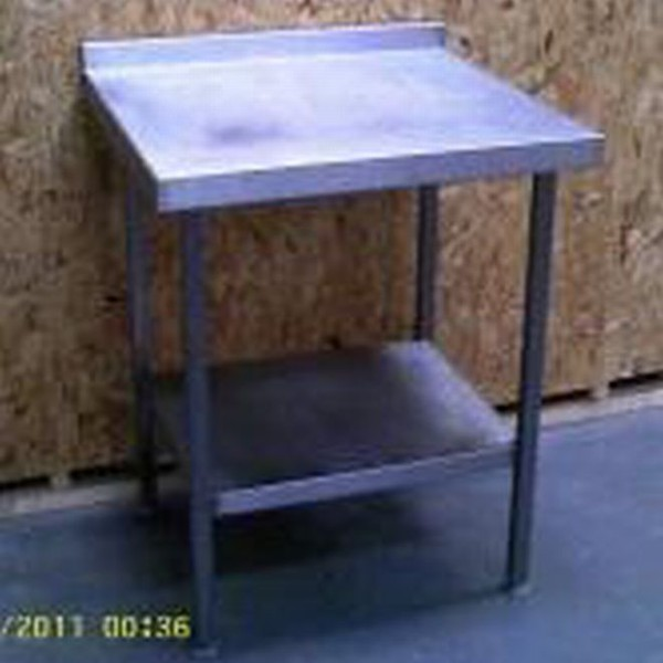 stainless steel kitchen table