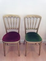 Gilt / Gold Banqueting Chairs