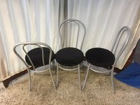 Silver Metal Chairs
