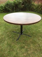 120cm round table and base