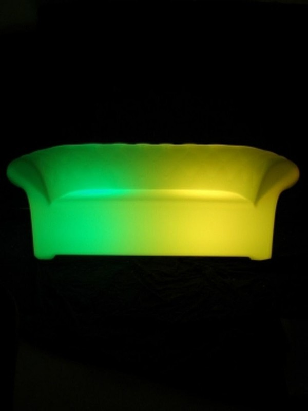 LED Furniture - Chesterfield Sofa