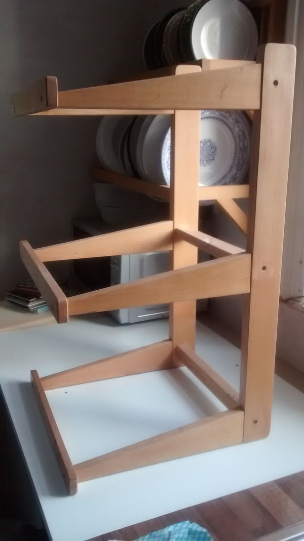 3 Tiered Counter Top Display Stands