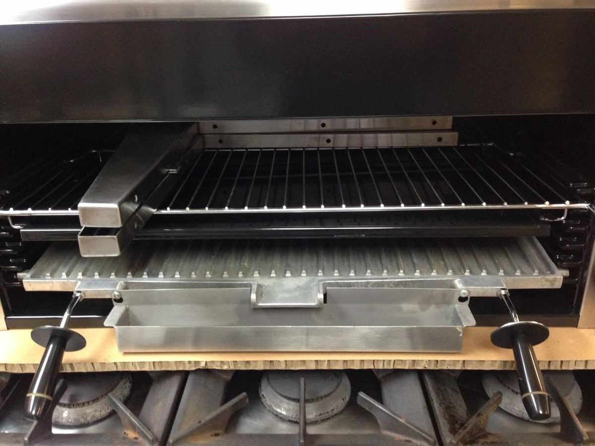 Masterchef Kitchen Appliances Secondhand Catering Equipment Salamander Grills Mv Masterchef