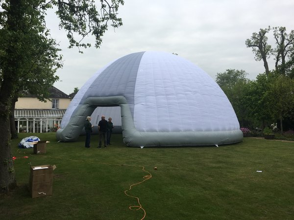 Sold 14m Inflatable Dome (Brand New) - Hertfordshire & Curlew - SecondHand Marquees | Inflatable Marquees