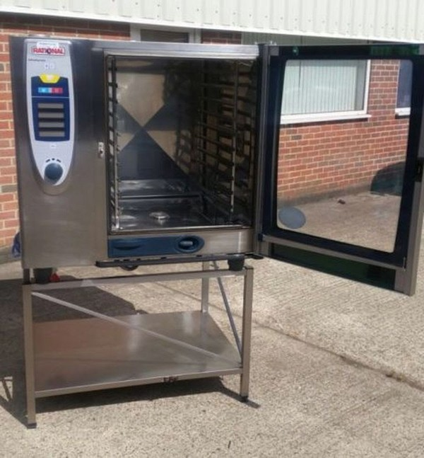 Rational SCC Electric 20 Grid 102 Combi Oven. Self Cooking Centre