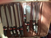 Waltmann & Sohn Chefs 9 Piece Knife Set With Carry Case