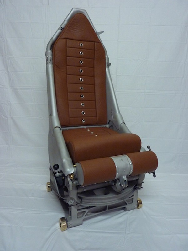 Repurposed Genuine Vulcan bomber swivel navigator seat
