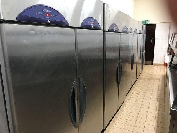Williams upright double fridges for sale