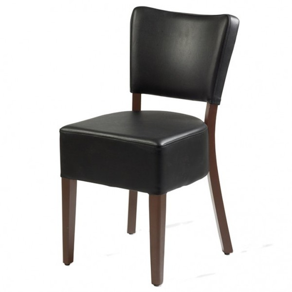 Black Belmont Restaurant Dining Chairs