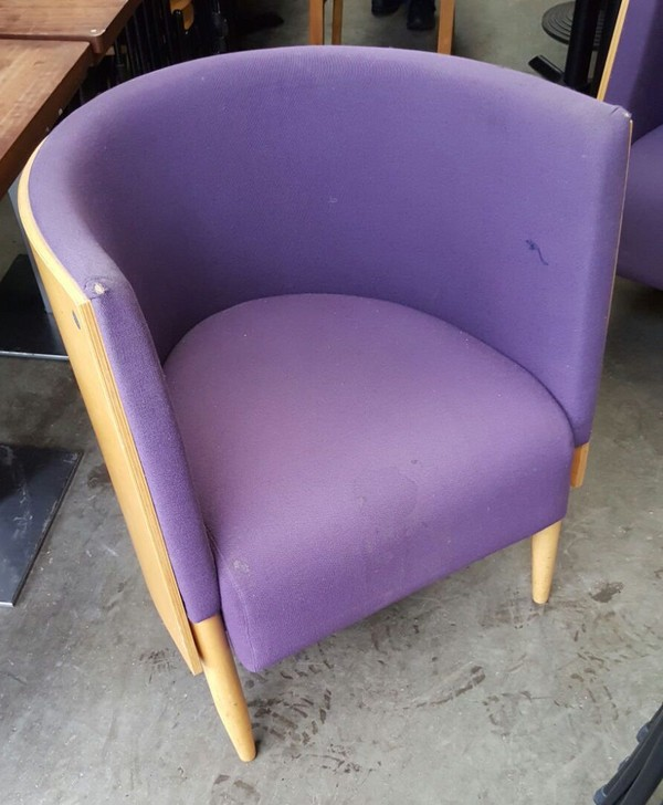 4x Tub Chairs