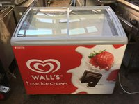 AHT Ice Cream Freezer with Walls Branding