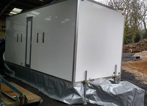 Eco 250s2 Bespoke Toilet Trailer