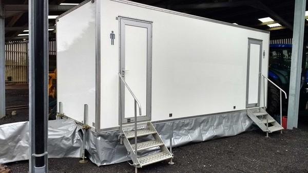 Peagreen Eco 250s2 Bespoke Toilet Trailer
