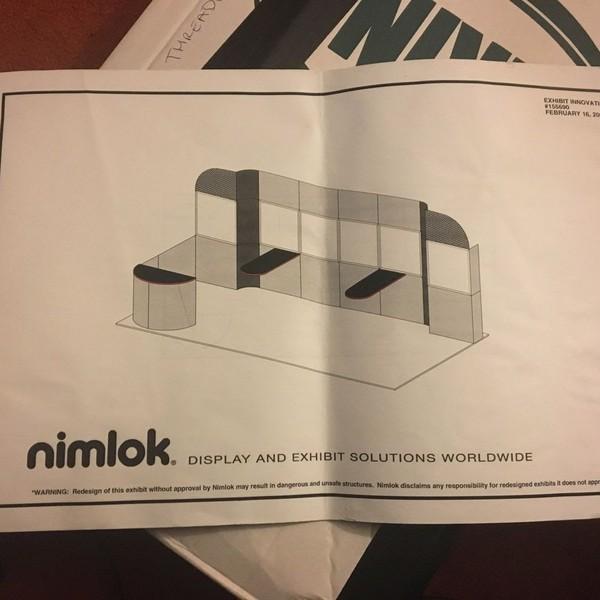 Nimlok Exhibition Display System