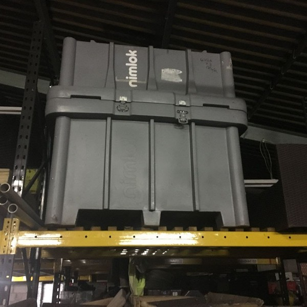 Nimlok Exhibition Display System Storage Crate