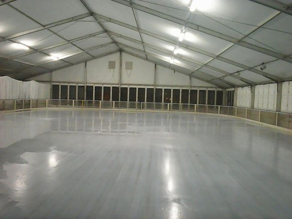 58 m x 28m Ice Skating Rink Dasher Boards