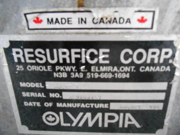 Ice Resurfacer Olympia