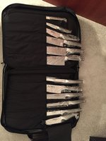 Global Chef Knife Set 12 Piece