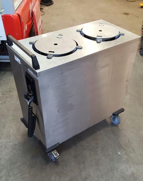 Heated plate warmer