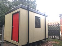 12ft x 9ft Plastisol Portable Office / Site Office / Crew Office