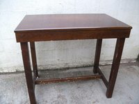 Used Dark Wood Poseur Table (Code T 909A)