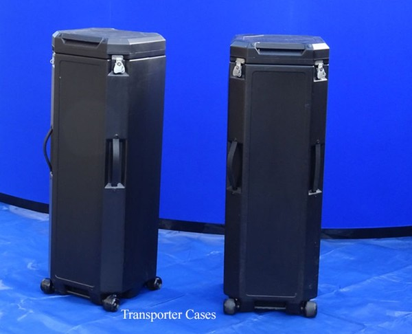 Exhibition stand transporter cases