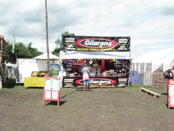 Festival Market Stall, Mercedes 609d Box Truck and Trailer