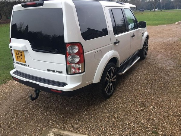 Land Rover Discovery 4 3.0 SD V6 HSE 5dr White