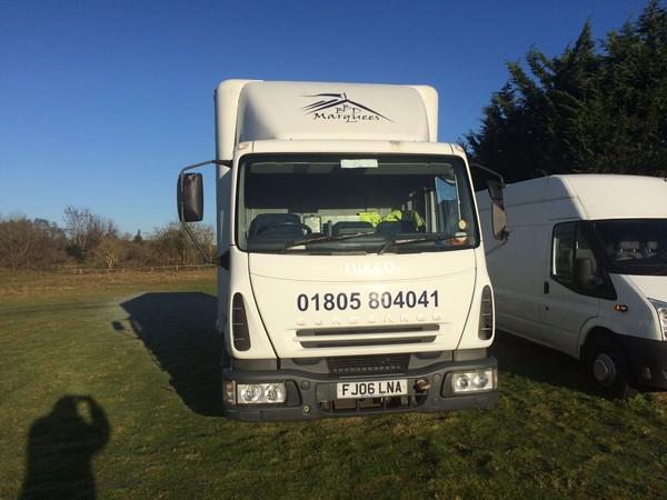7.5 ton box lorry