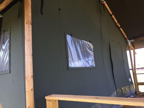 Woody Safari Tent