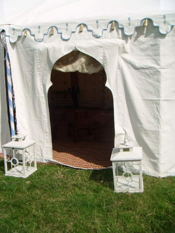 Marquee doorway