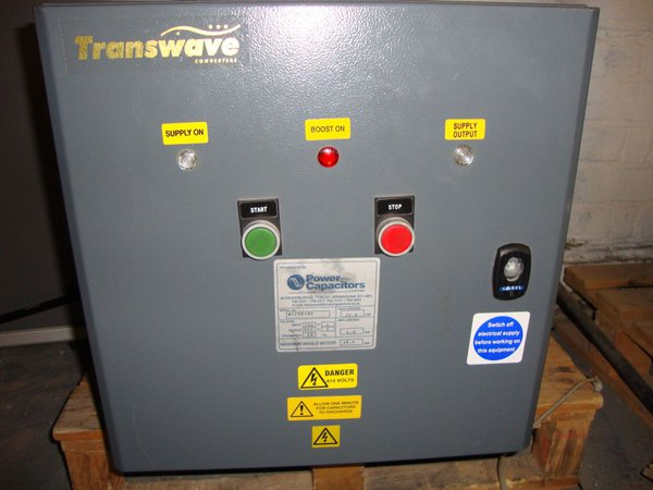 Transwave 3 Phase Rotary Converter