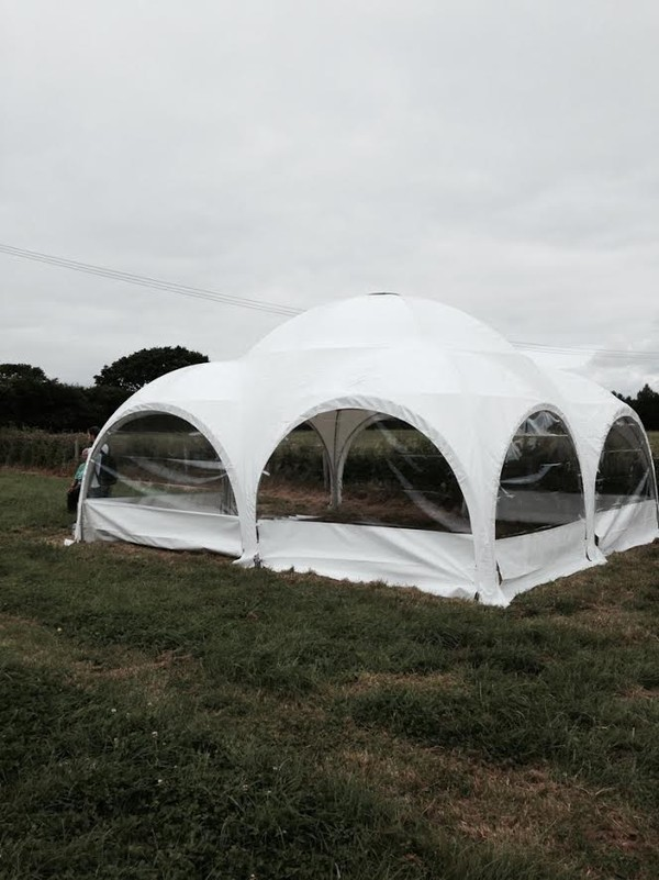 Dome tent Clamping shelter