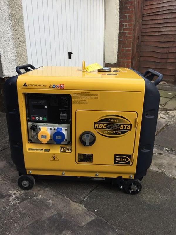 Kipor Diesel Generator (New)