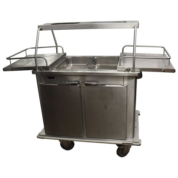 Serving trolley / hot cupboard