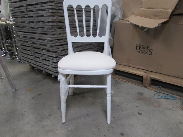 White Cheltenham chairs