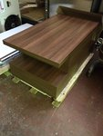 Walnut MFC table tops