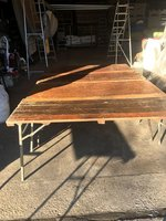 "Trestle Tables 6'x6'6"" and 6'x6'3"""