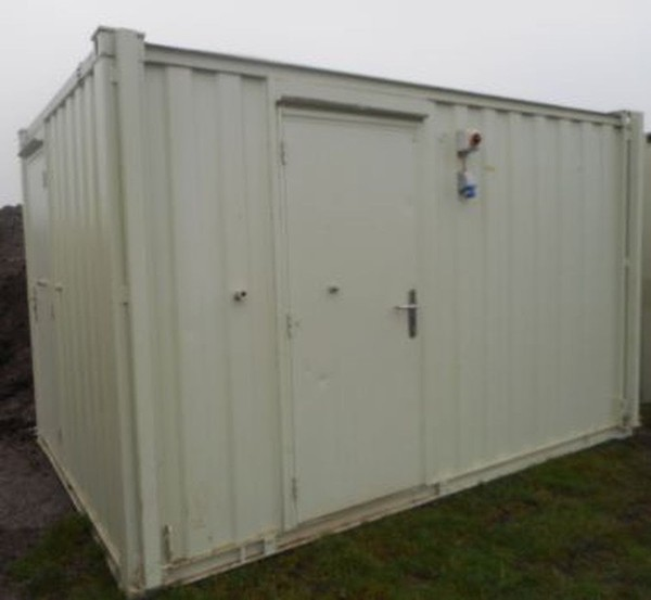 12' x 9' Anti Vandal 2+1 Toilet Unit