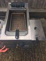 Lincat Electric Fryer 240V Used
