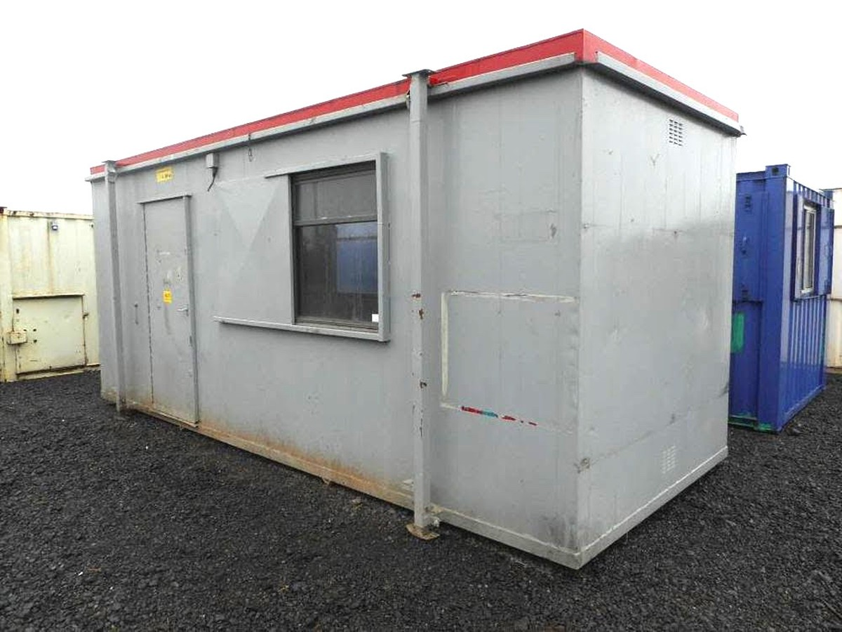 Secondhand portable buildings portable office cabins for Portable shed office