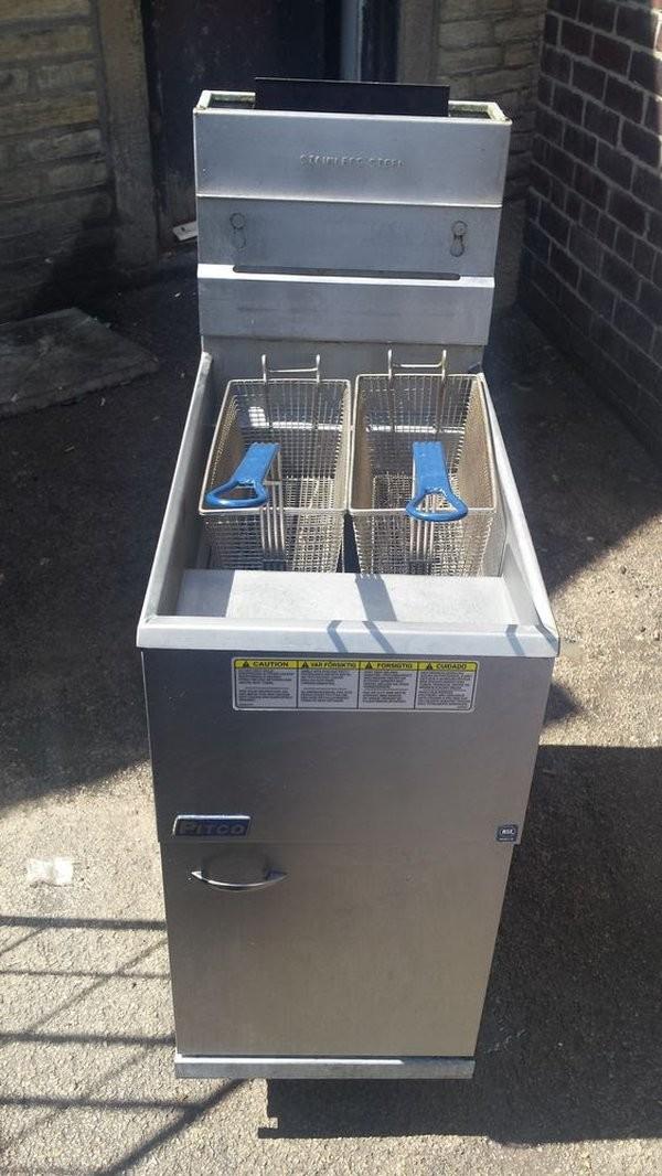 Pitco 35C +Double basket Nat Gas Deep fat fryer