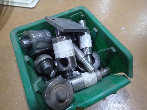 Hydraulic Brass Eyeleting Machine