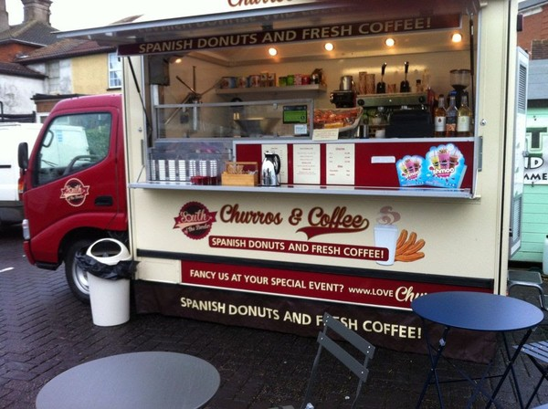 Churros and Coffee Van