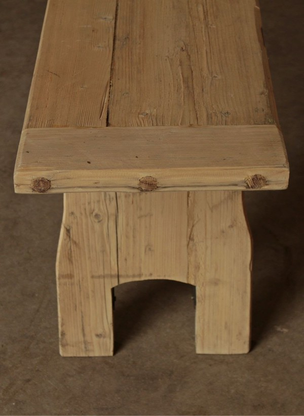 Rustic Trestle Tables and Benches