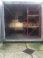 Fridge freezer shipping container