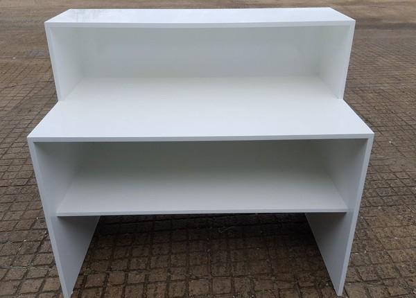 White Bar Counter